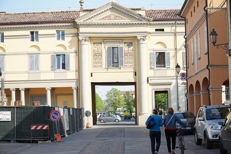 Crevalcore. Porta Bologna ricostruita