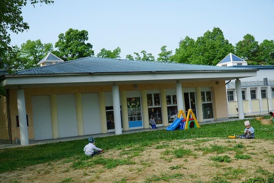 Cavezzo. Scuola d'infanzia ricostruita