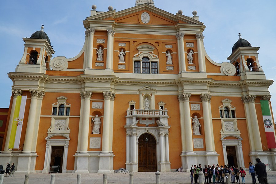 Carpi. Duomo ricostruito