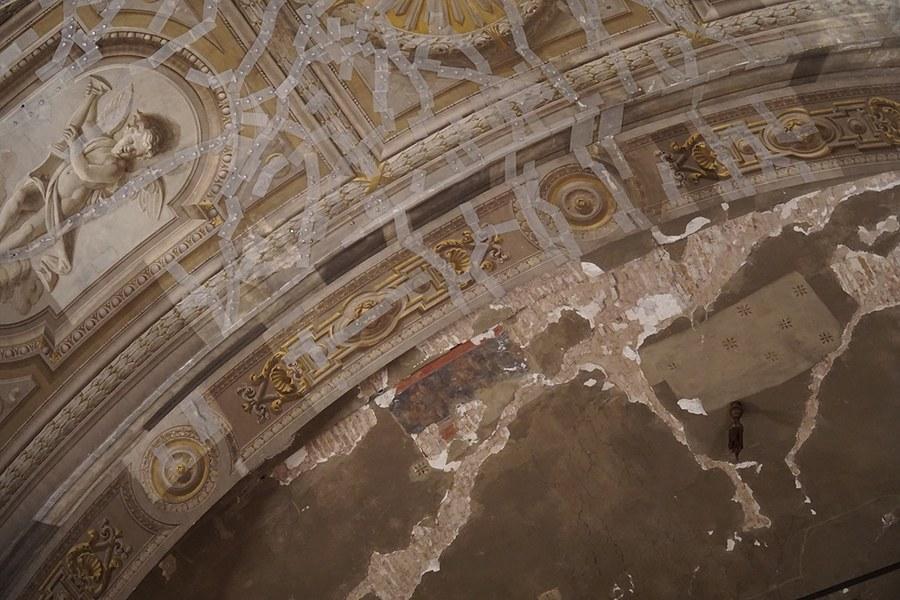 Ferrara. Duomo in restauro
