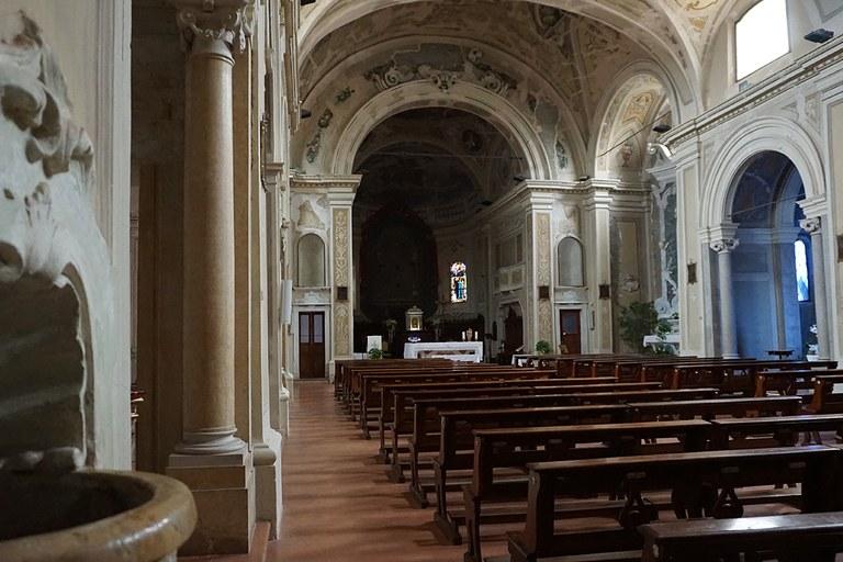 Camposanto. Chiesa di Santa Maria assunta ricostruita