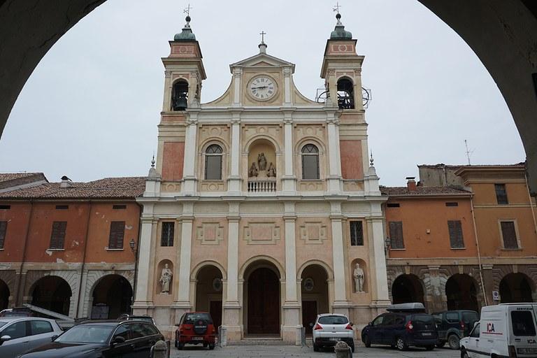 Guastalla. Duomo restaurato