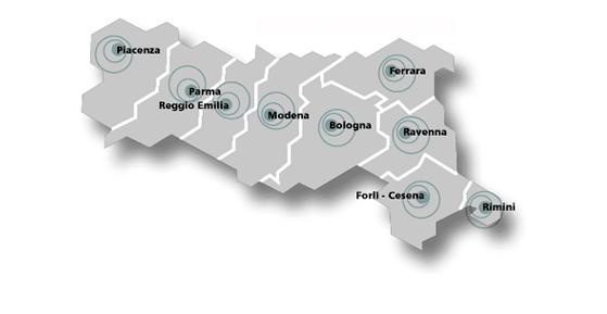 Mappa sportelli